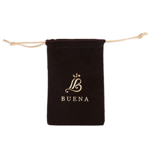 Wholesale Jewelry Velvet Pouch Gift Bags With Drawstring Jewellery Packaging Jewelry Pouches