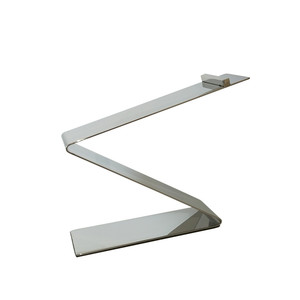 Silver Metal Shoe Riser Shoe Display Stand MSH022