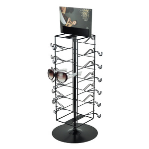 Cheap High Quality Stainless Steel Rotating Glasses Display Stand