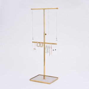 Metal T stand Jewelry Display Stand