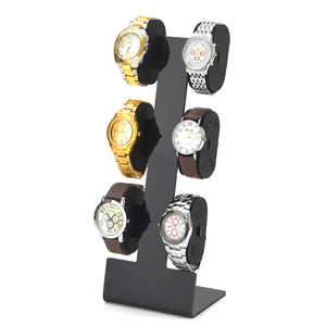 Custom Acrylic Watch Display Stand With Sponge Pillows