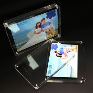 Custom Acrylic Photo Frame With Rounded Edges