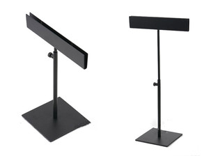 Metal Black Desktop Poster Stand