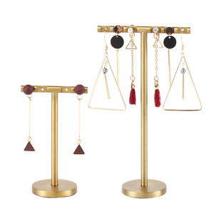 Jewellery Store Metal Jewelry Stand Rack Earring Display Holder Set