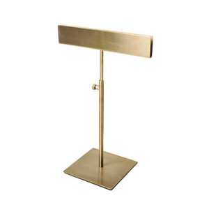 Metal Brushed Gold Desktop Poster Stand