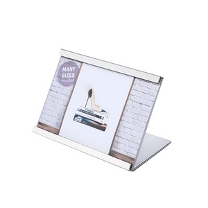 Hot sale advertising display stand holder desk name plate