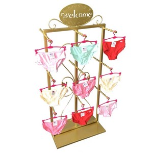 tier display shelf underwear and bra display rack clothes display rack