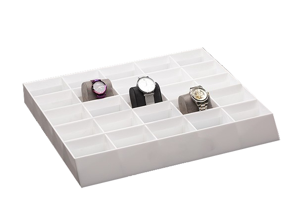 Custom acrylic multi-grids watch display box