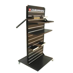 Customized stainless steel metal plate display stand