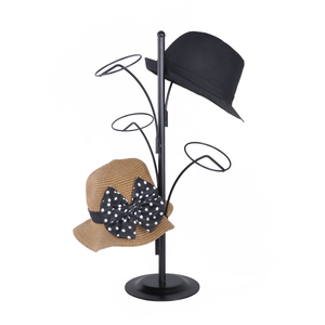 Metal wire hat rack cap rack / Hat stand for mall / Beanie display rack