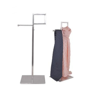 High Fashion Metal Scarfs Display Stand For Store
