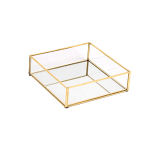 Metal/Glass Display Tray