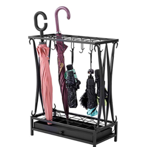 New arrival promotional metal umbrella display rack/stand hot selling umbrella storage holder
