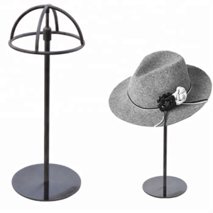 hot sale hat stand display, hat rack, adjustable metal cap stand holder